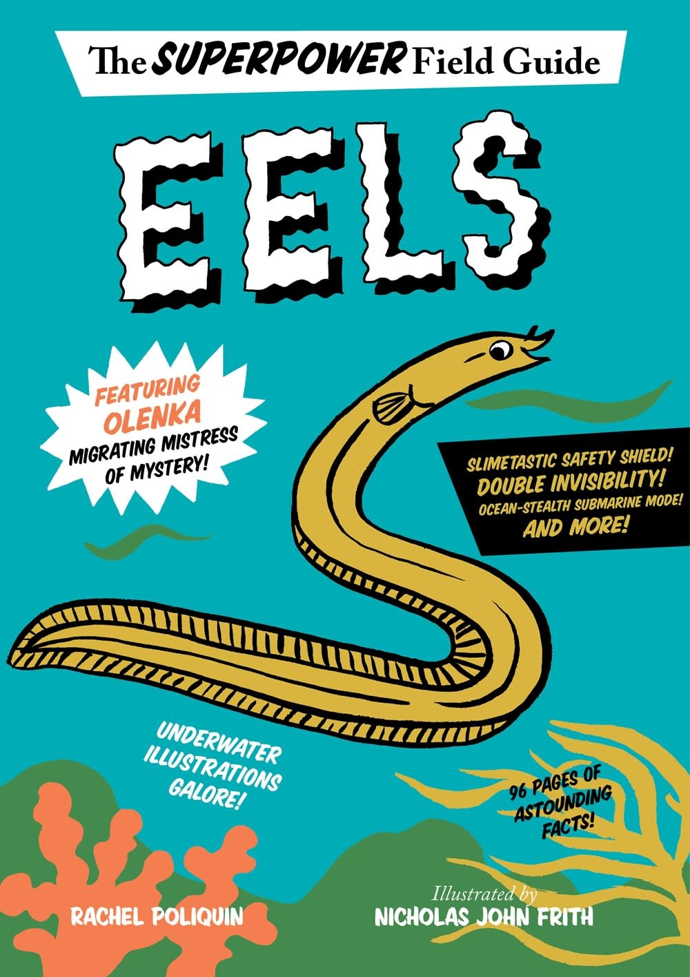 HMH Books for Young Readers Superpower Field Guide: Eels