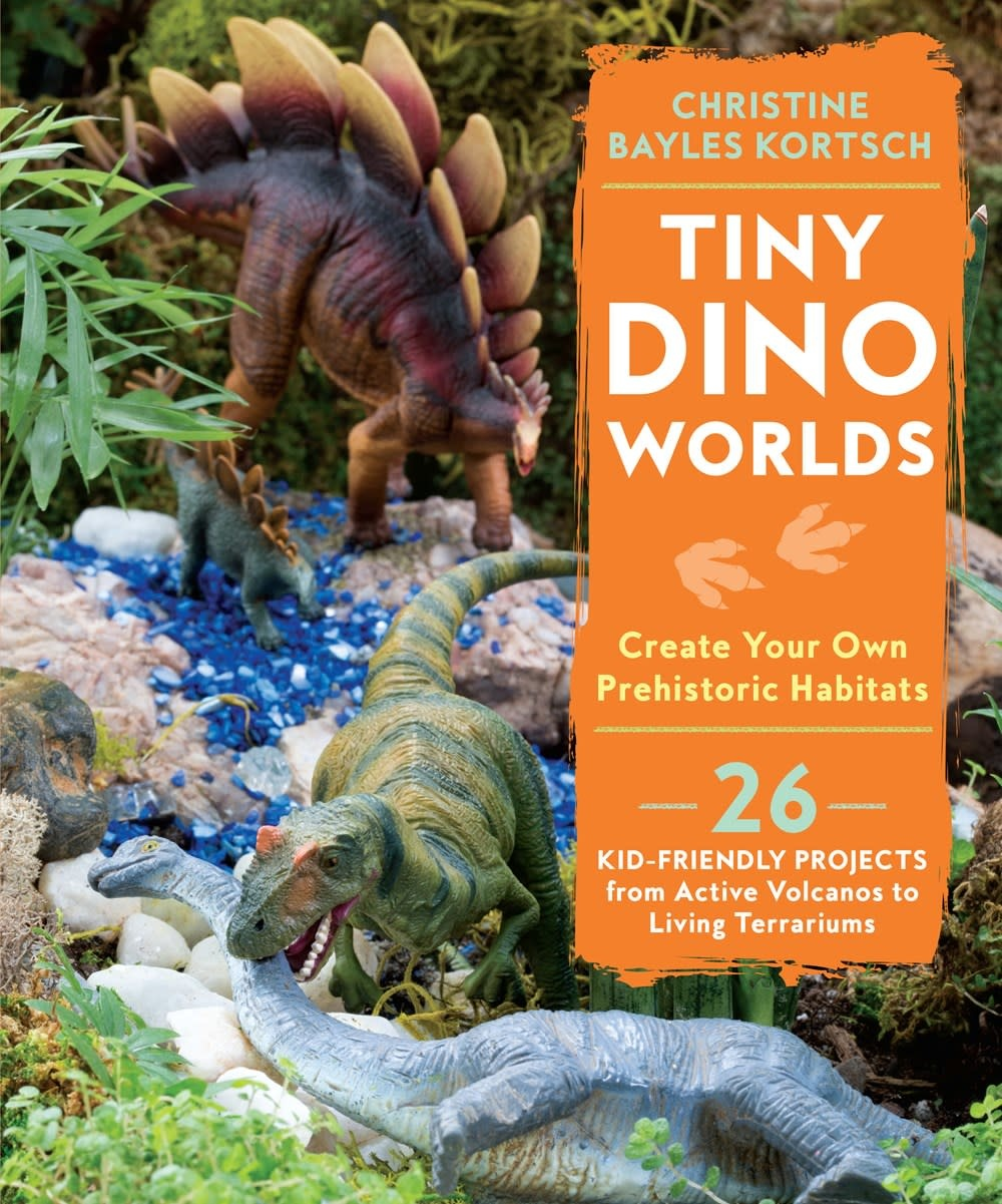 Roost Books Tiny Dino Worlds: Create Your Own Prehistoric Habitats