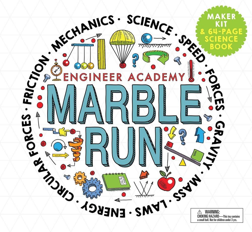 Silver Dolphin Books Engineer Academy: Marble Run