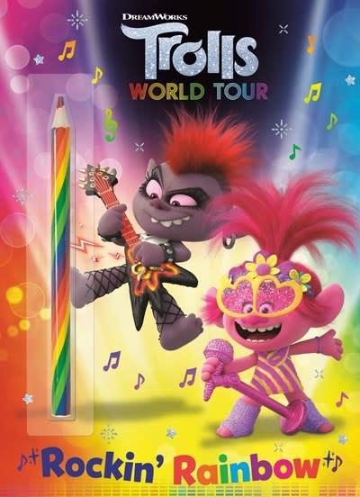 Golden Books DreamWorks Trolls World Tour: Rockin' Rainbow!