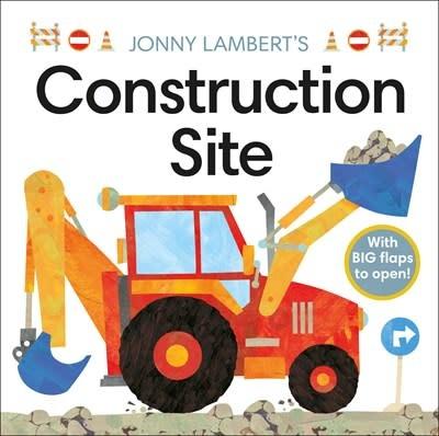 DK Children Jonny Lambert's Construction Site (Board Book)
