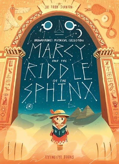 Flying Eye Books Marcy and the Riddle of the Sphinx (Paperback)