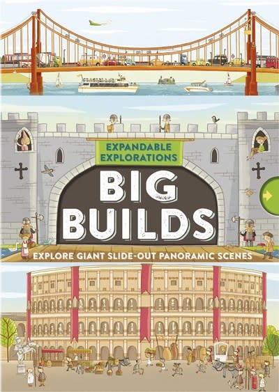Silver Dolphin Books Expandable Explorations: Big Builds