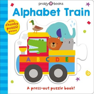 Priddy Books Priddy Puzzle and Play: Alphabet Train (Board Book)