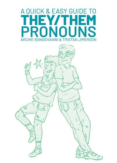 Oni Press A Quick & Easy Guide to They/Them Pronouns