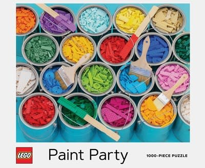 Chronicle Books LEGO Paint Party Puzzle