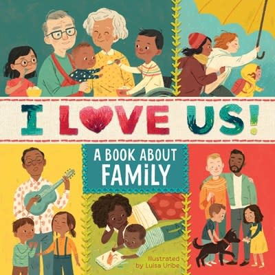 HMH Books for Young Readers I Love Us: A Book About Family (with mirror and fill-in family tree)