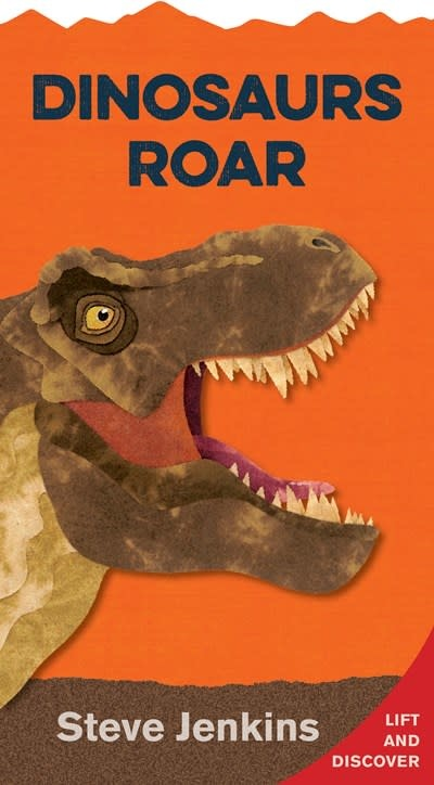 HMH Books for Young Readers Dinosaurs Roar (shaped board book with lift-the-flaps)