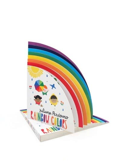 words & pictures Rainbow Colors