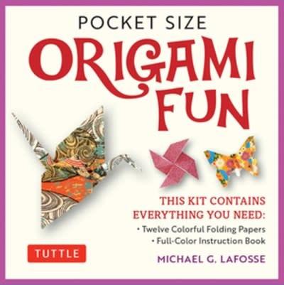 Tuttle Publishing Pocket Size Origami Fun Kit