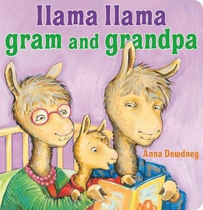 Viking Books for Young Readers Llama Llama Gram and Grandpa