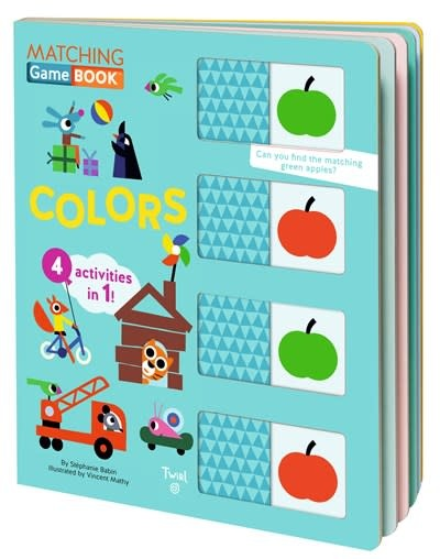 Twirl Matching Game Book: Colors