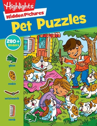 Highlights Press Highlights Hidden Pictures: Pet Puzzles