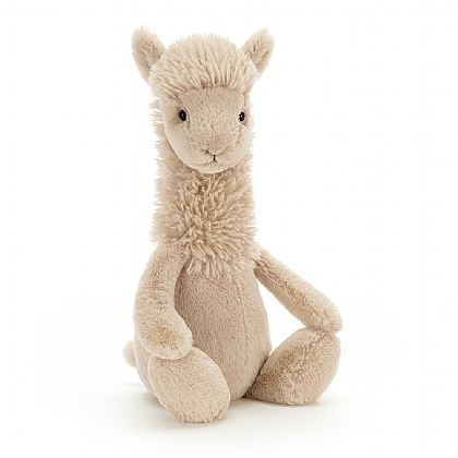 Bashful Llama (Small Plush)