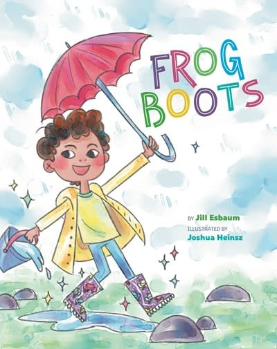 Sterling Children's Books Frog Boots