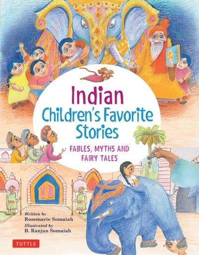 Tuttle Publishing Indian Children's Favorite Stories: Fables, Myths, & Fairytales
