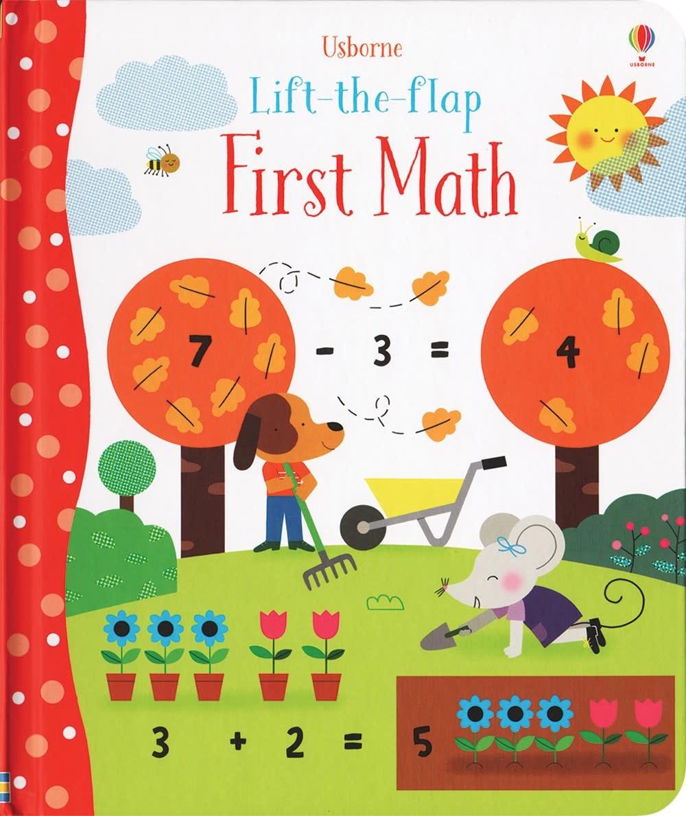 Usborne Lift-the-Flap First Math