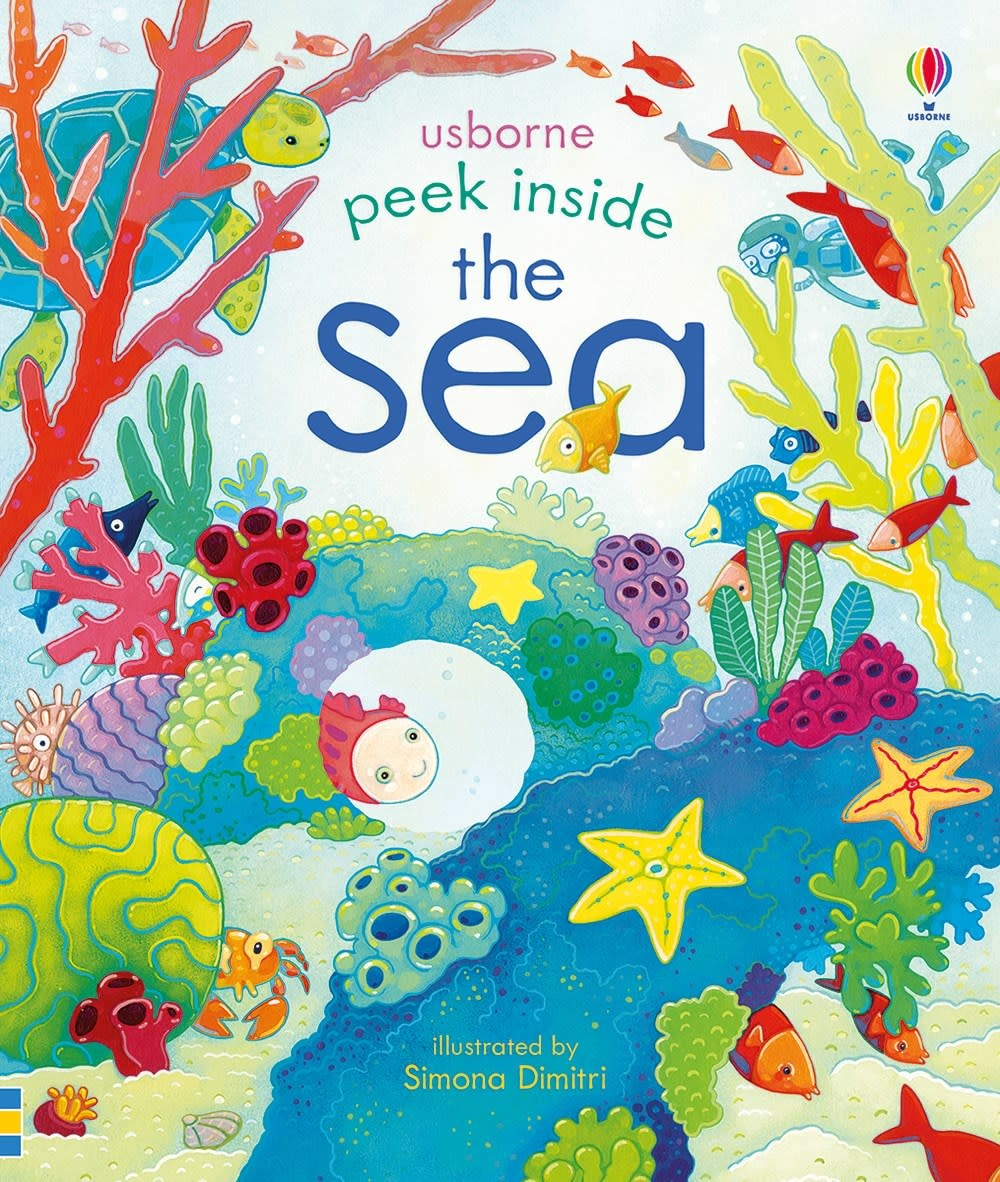 Usborne Peek Inside the Sea