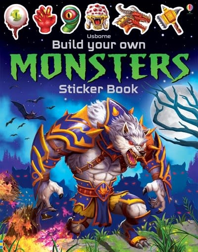 Usborne Build Your Own Monsters Sticker Book