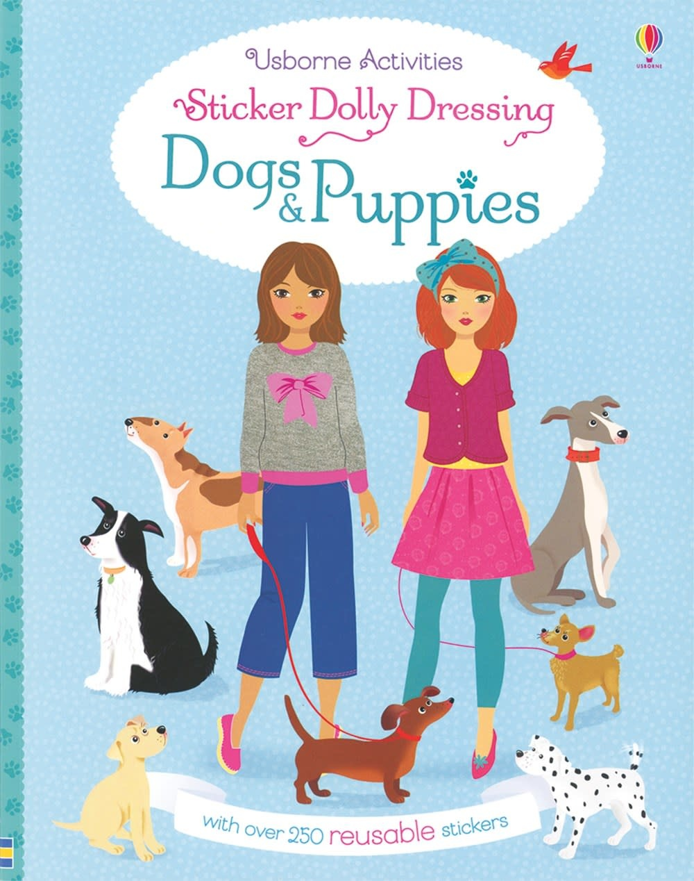 Usborne Sticker Dolly Dressing Dogs and Puppies