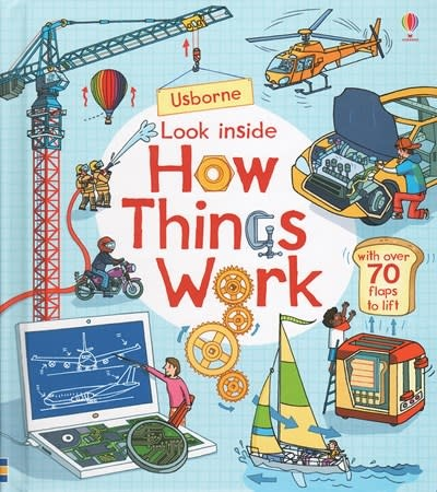 Usborne Look Inside How Things Work IR