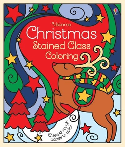 Usborne Christmas Stained Glass