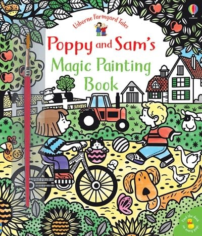 Usborne Poppy and Sam's Magic Painting Book
