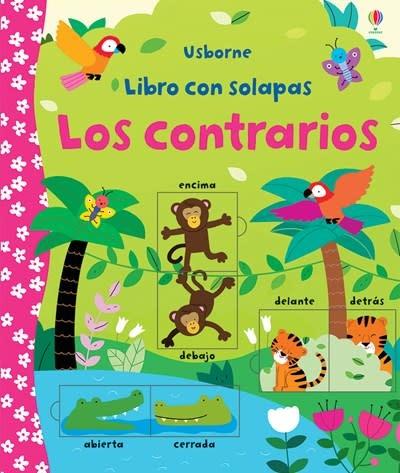 Usborne Libro con solapas Los contrarios-Lift-the-Flap Opposites