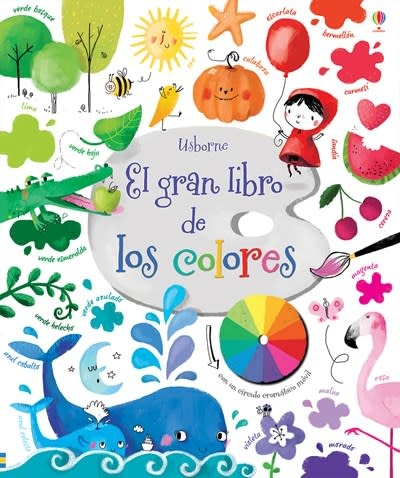 Usborne El gran libro de los colores-Big Book of Colors