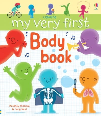 Usborne My Very First Body Book IR