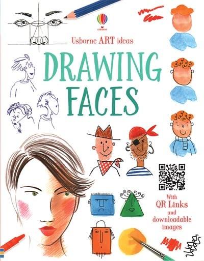 Usborne Drawing Faces IR