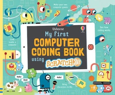 Usborne My First Computer Coding Book using ScratchJr IR