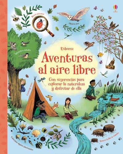 Usborne Aventuras al aire libre-The Outdoor Book
