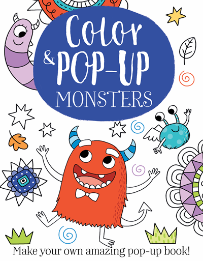 Kane Miller Color & Pop-up Monsters