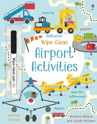 Usborne Wipe-Clean Airport Activities