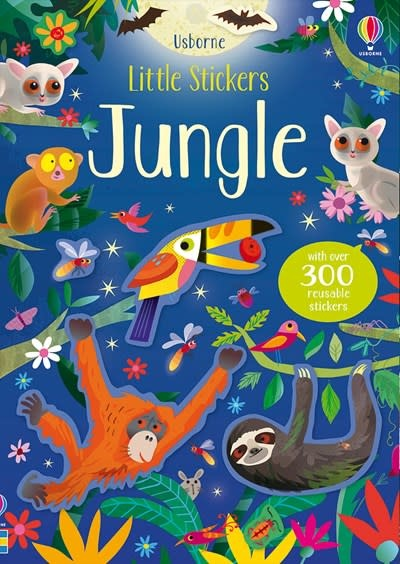 Usborne Little Stickers Jungle