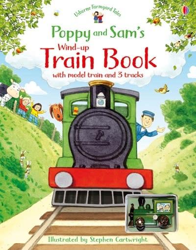 Usborne Poppy and Sam's Wind-Up Train (REV)