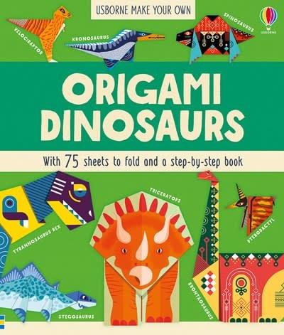 Usborne Origami Dinosaurs IR