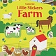 Usborne Little Stickers Farm