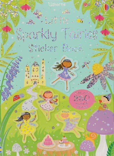 Usborne Little Sparkly Fairies Sticker Book