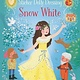 Usborne Little Sticker Dolly Dressing Snow White