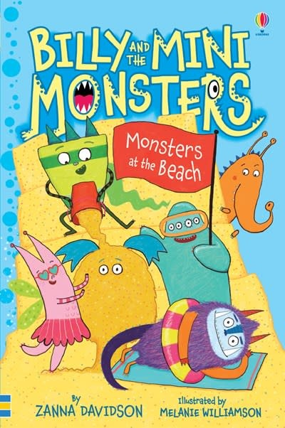 Usborne Billy and the Mini Monsters: Monsters at the Beach