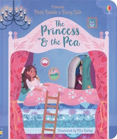Usborne Peek Inside a Fairy Tale - The Princess & the Pea