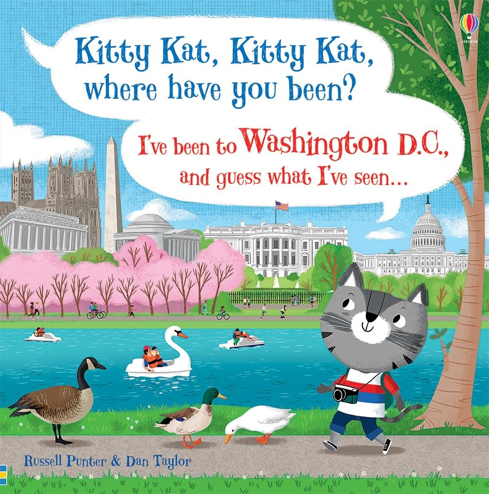 Usborne Kitty Kat Kitty Kat Washington DC
