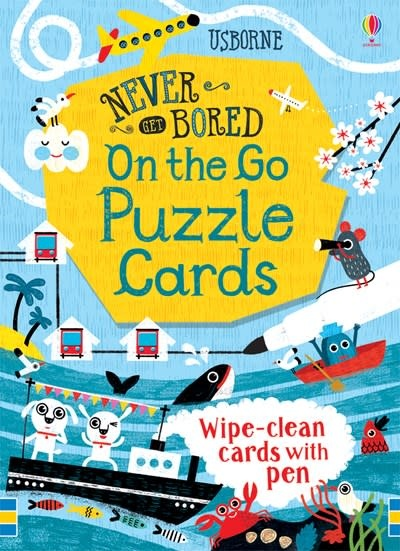 Never Get Bored On the Go Puzzle Cards