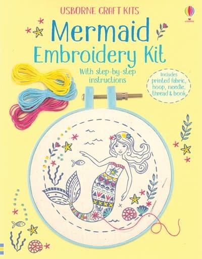 Usborne Mermaid Embroidery Kit IR