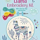 Usborne Llama Embroidery Kit IR