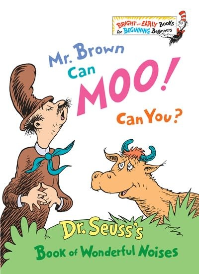 Random House Books for Young Readers Mr. Brown Can Moo! Can You?