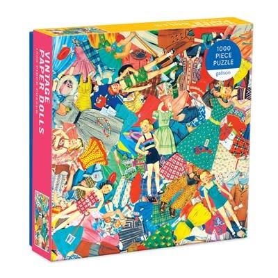 Galison Vintage Paper Dolls (1000 Piece Puzzle)