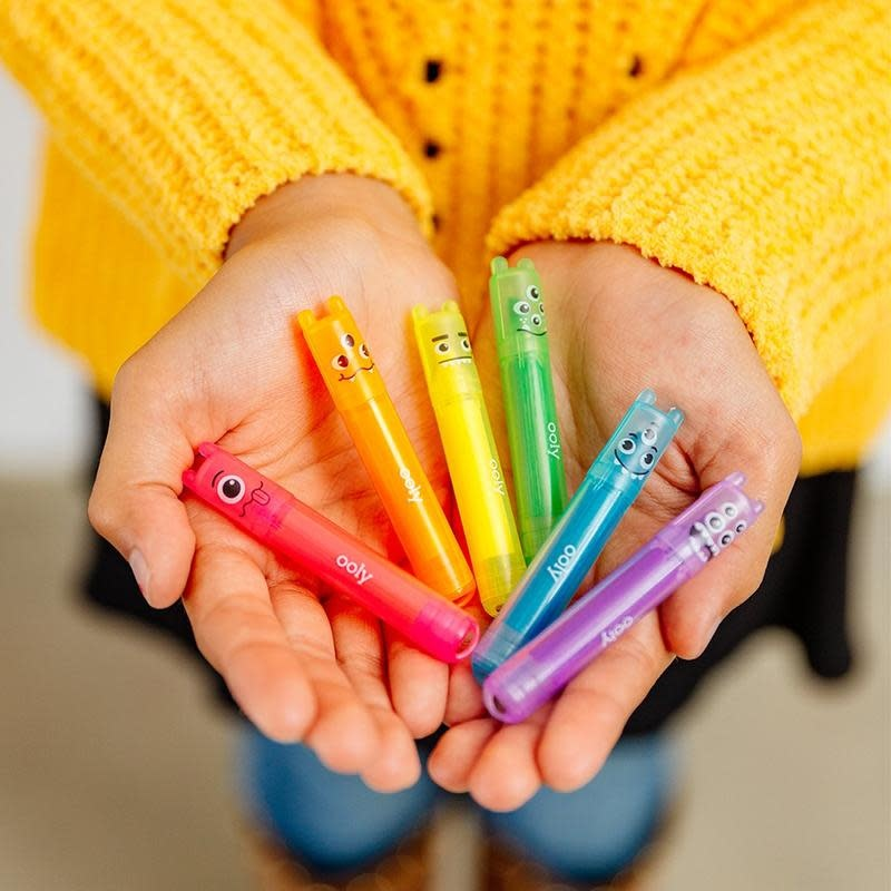 Ooly Mini Monster Scented Neon Markers (Set of 6)